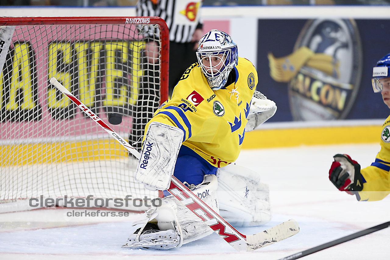 Ishockey-Friendly-game-Träningsmatch-Sverige-Sweden-Danmark-Denmark