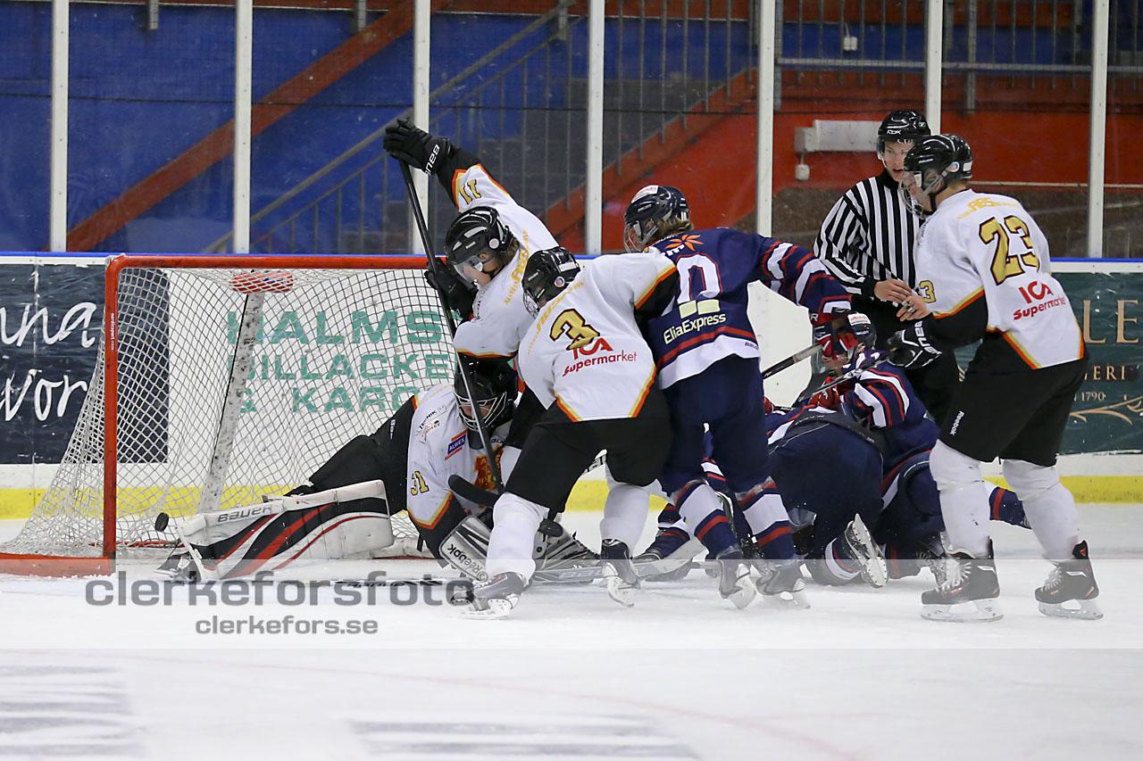 Ishockey J-20 Div I, Halmstad Hammers - Alvesta SK :