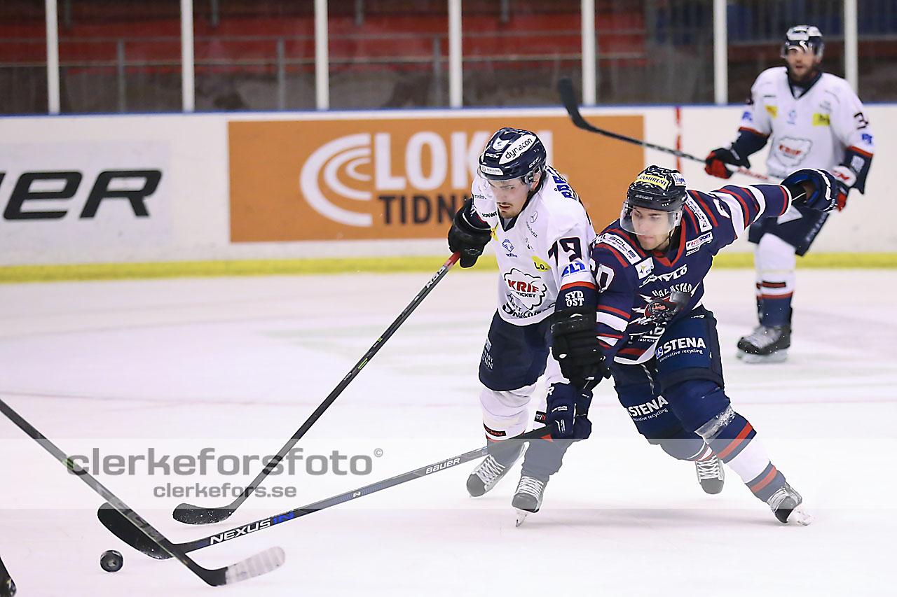 Ishockey Div I Hockeyettan, Halmstad Hammers - Kallinge-Ronneby :