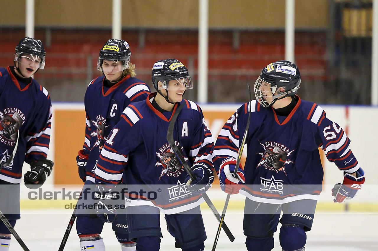 Ishockey J-20 Div I, Halmstad Hammers - BORO/VHC :